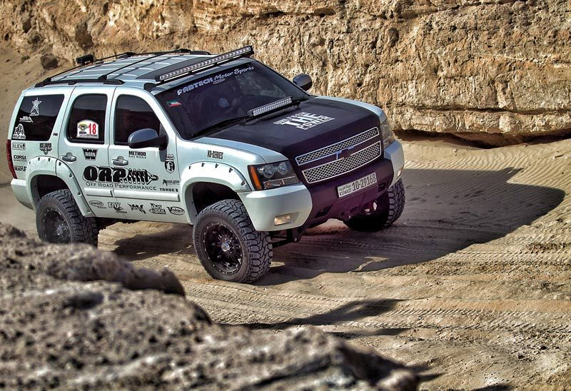 lifted chevy tahoe off road performance bushwacker. Black Bedroom Furniture Sets. Home Design Ideas