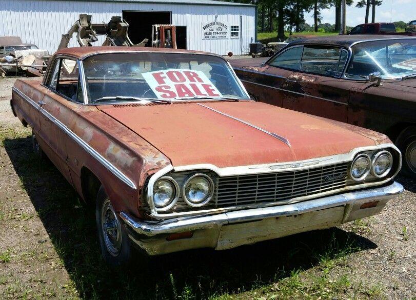 64 Chevy Impala For Sale Near Sallisaw Oklahoma Tripper S