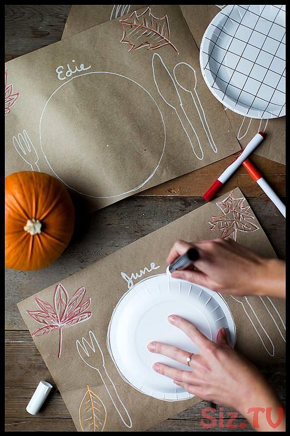 31 Thanksgiving Table Setting Ideas for Kids 038 Adults 31 Thanksgiving Table #thanksgivingtablesettingideas