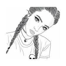 Image result for long hair beginner easy drawings of girls ...