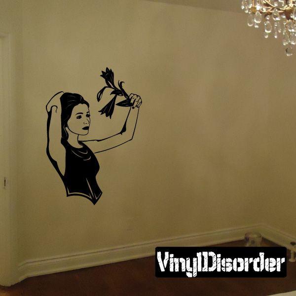 Female Anime Wall Decal - Vinyl Decal - Car Decal - DC 23084