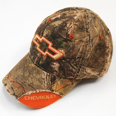 ade5faef366 This Chevy Hat features Realtree Xtra® Camo w  blaze orange accents! For  all the Camaro and Silverado fans out there!