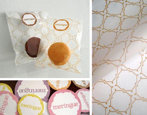 Meringue, an upscale dessert boutique | student design by Samira Khoshnood