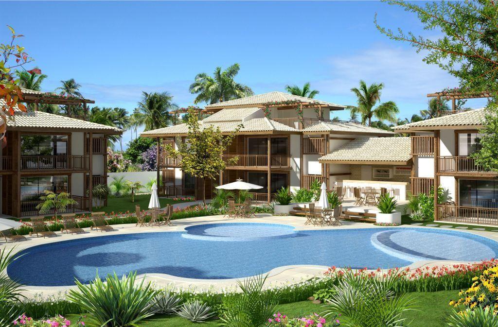 Apartamento terreo com 2 suítes à venda em Praia do Forte, Bahia, Brasil.