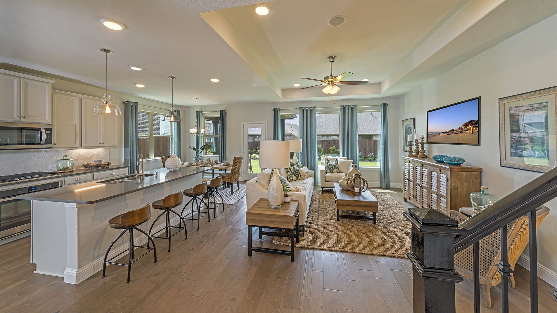 An Open Concept Floorplan Is The Ideal Space For Families To