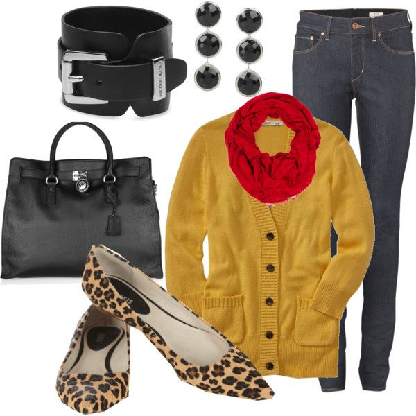 """""""Leopard Touch"""" by mwalker5 on Polyvore"""
