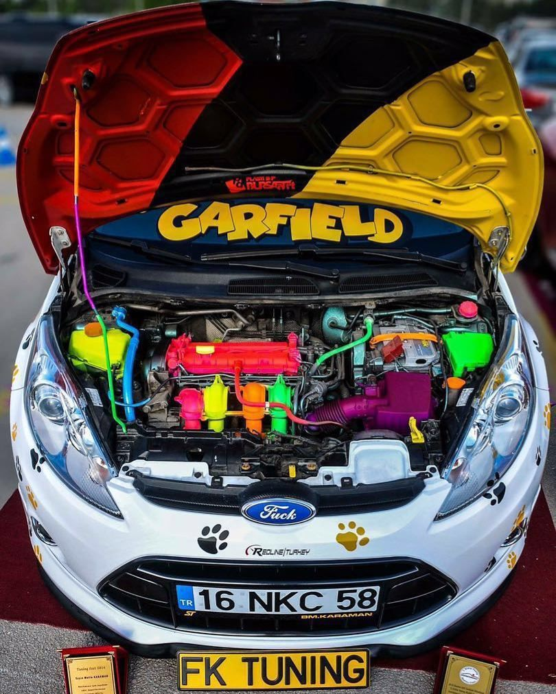 Garfield Rengarenk Owner@mutlukrmn #Ford #Fiesta #Garfield #Colour #Colours & Garfield Rengarenk Owner:@mutlukrmn #Ford #Fiesta #Garfield ... markmcfarlin.com