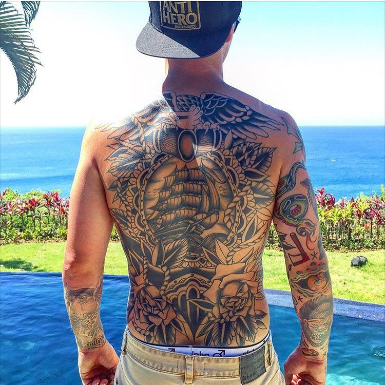 17+ Amazing Back piece tattoo pain image HD