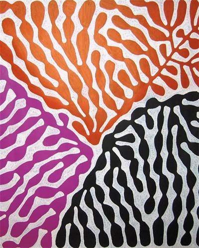 Indigenous Art Mitjili Napurrula Frances Keevil Gallery Sydney Indigenous Art Pattern Art Aboriginal Art