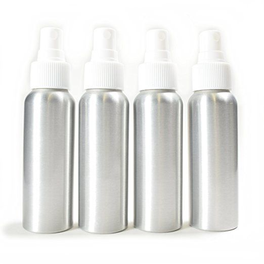 1bcf4cf3be36 4 Pack Aluminum Fine Mist Spray Bottles 2.7oz (80ml) | Projects to ...