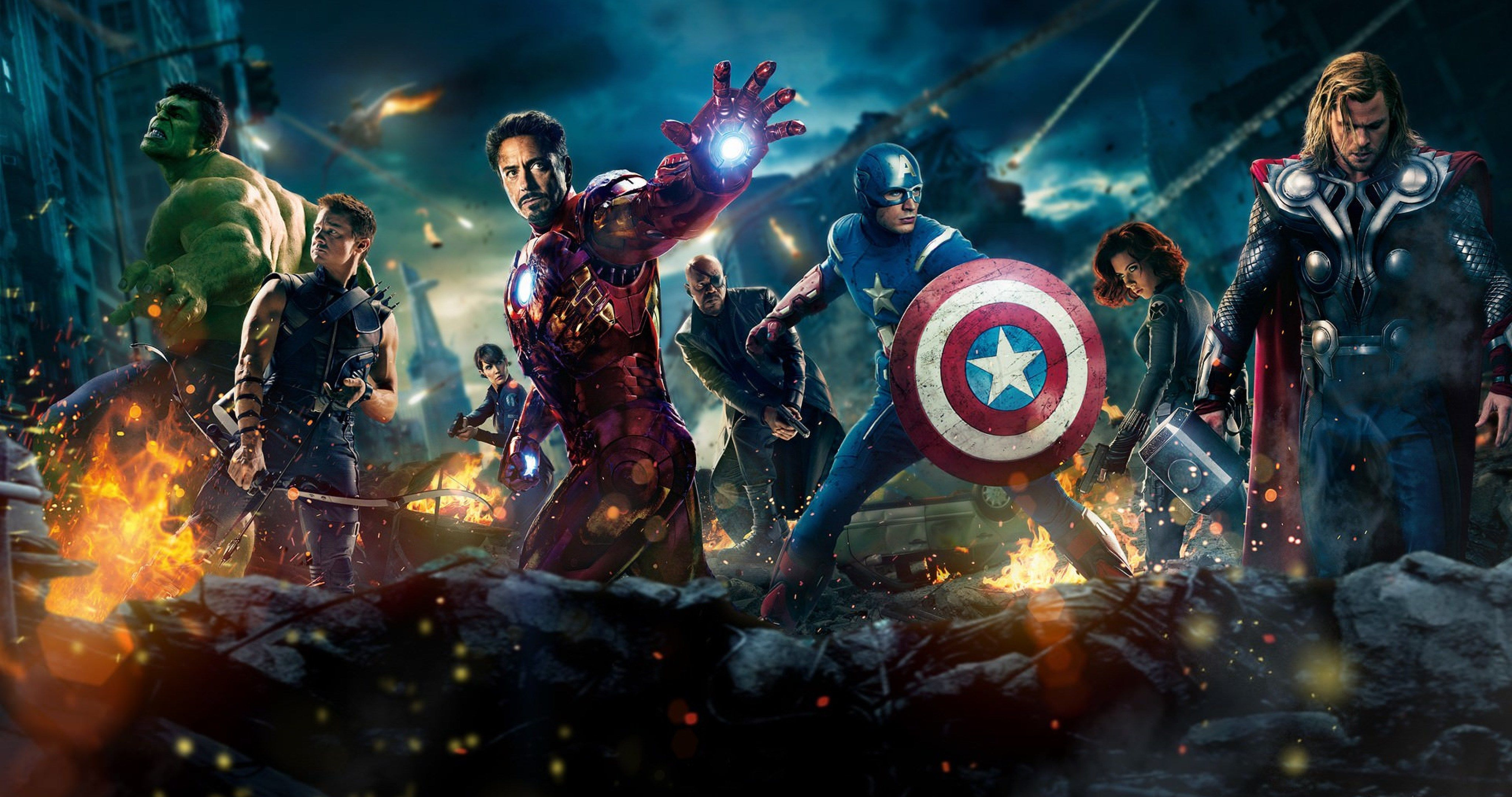 The Avengers Movie 2012 4k Ultra Hd Wallpaper Marvel Cinematic
