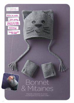 9d2f13ce044 patron tricot bonnet chat