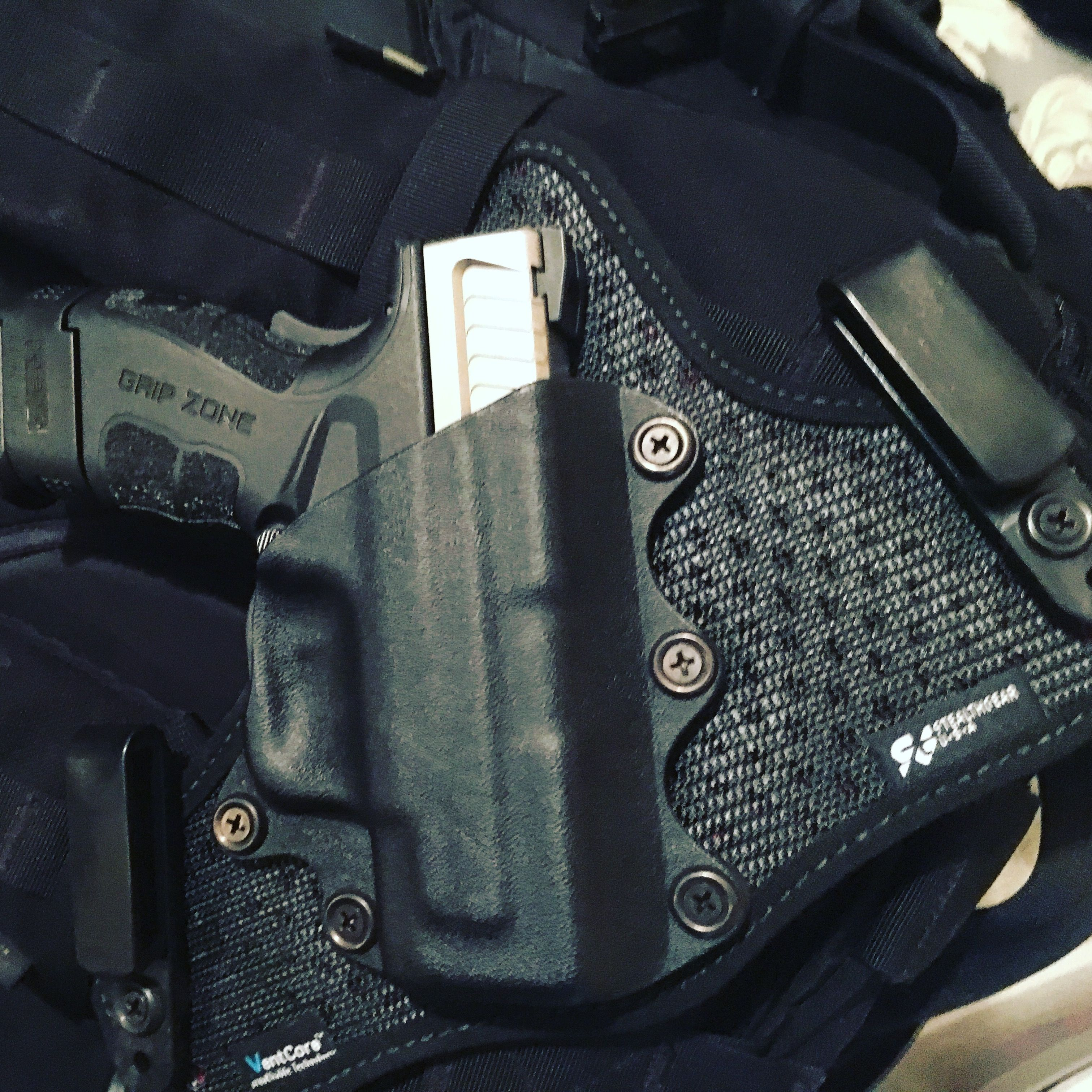 Stealthgear IWB covert duty holster  Sporting a Springfield
