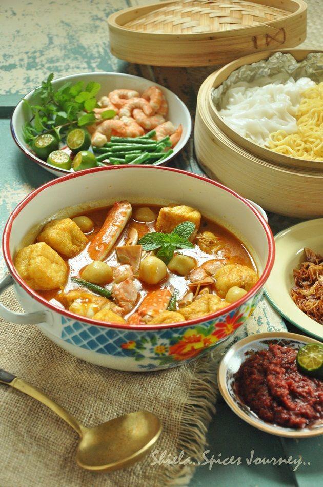 Spices Journey Mee Kueteow Kari Ketam Recipes In 2019