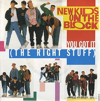 NKOTB - I had a life-sized cardboard cutout of these boys ...