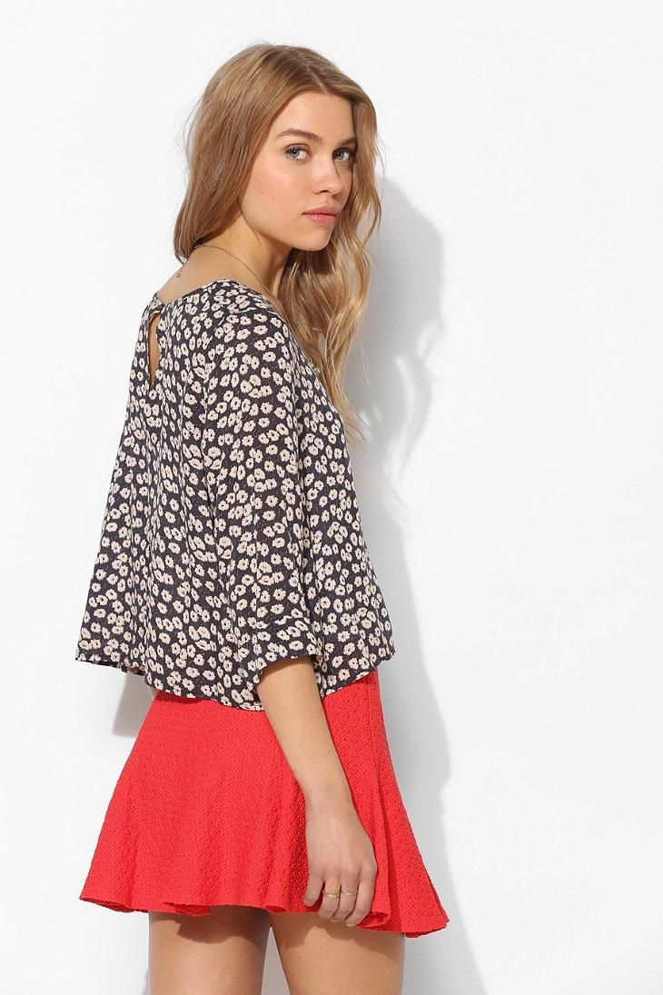 Pins And Needles Clothing Pins And Needles 34 Sleeve Swing Top #urbanoutfitters  Uo