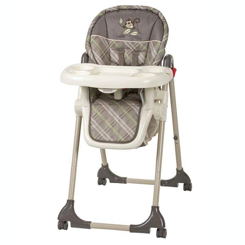 High Chair Monkey Plaid High Chair Baby High Chair Chair