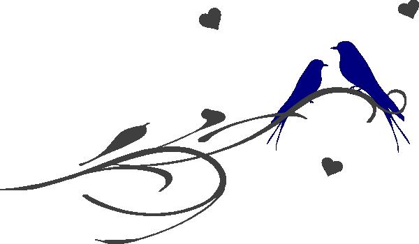 love birds on a branch clip art vector clip art online royalty free rh pinterest com love bird clip art free love birds clipart png
