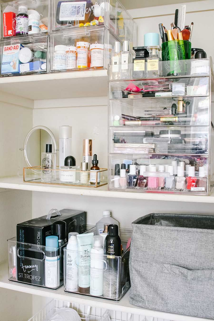 How To Completely Organize Your Bathroom The Hy Housie