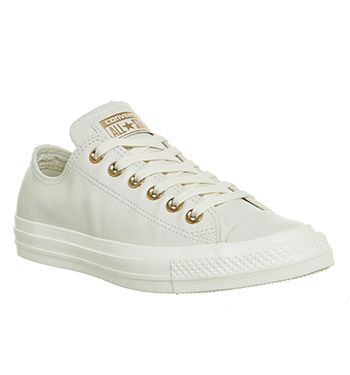 White Leather Converse : Shop Converse Online at