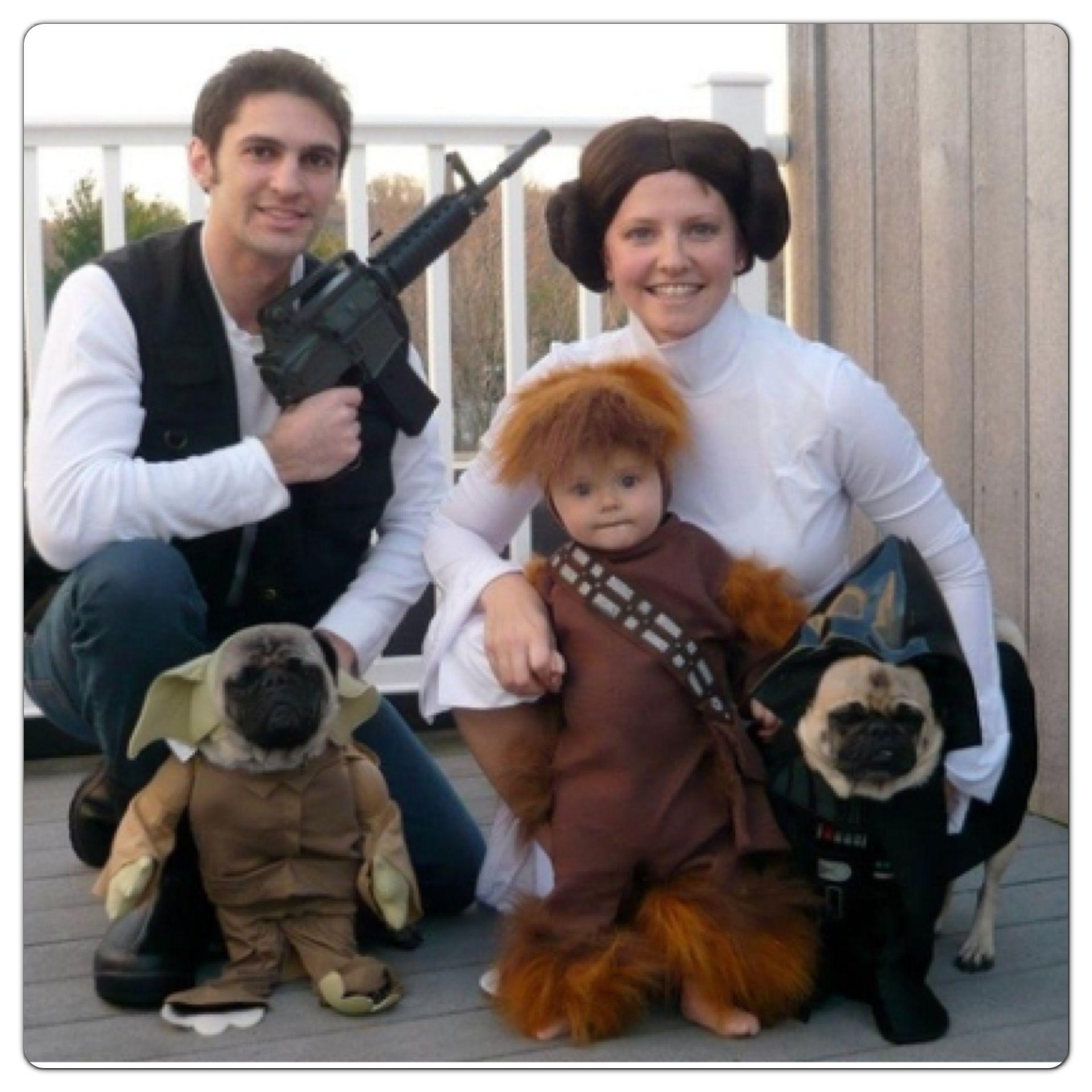 Disfraces de Star Wars para toda la familia, incluido tus perros