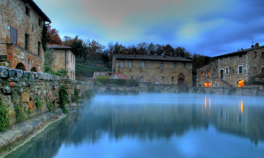 Bagno Vignoni Tuscany Tuscany Travel House Styles