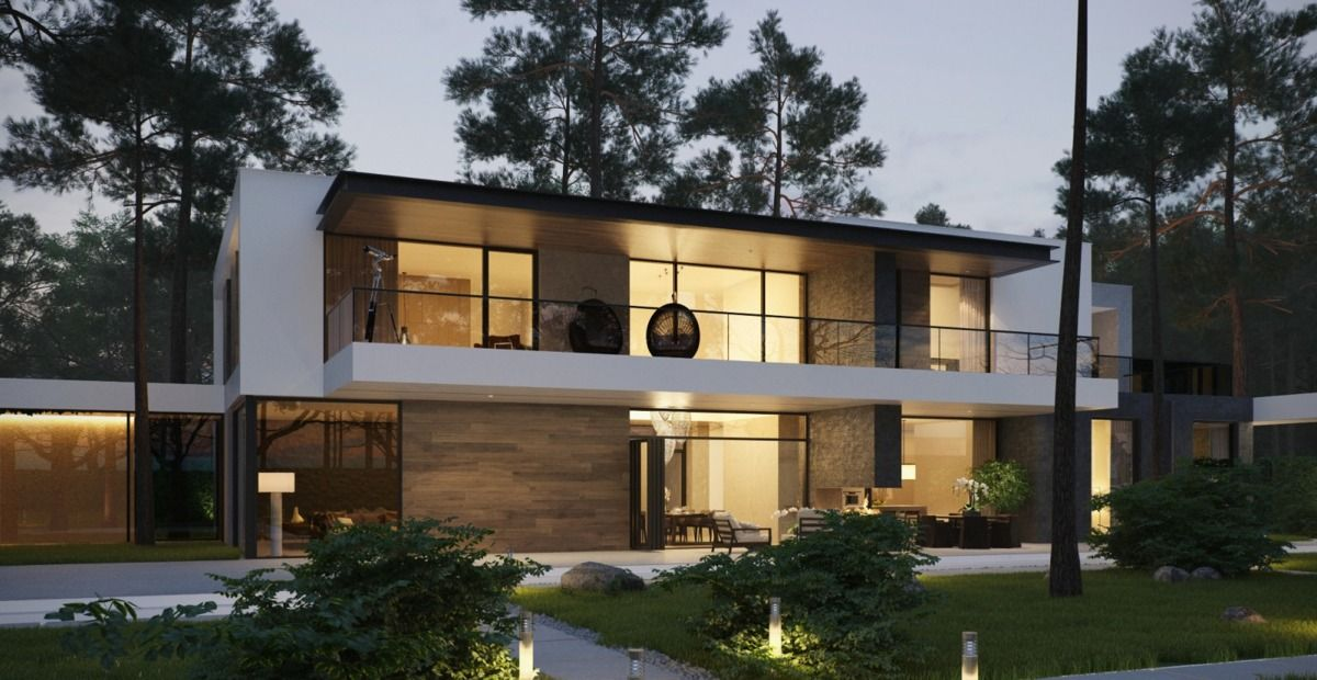 Stunning house exterior designs with attractive and unique for Unique modern house exterior
