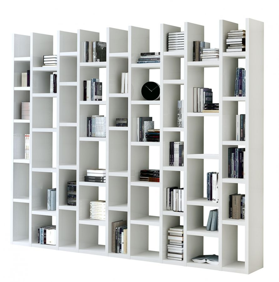 Bucherregal Emporior Iii Weiss Moderne Boekenkast Boekenkasten Boekenkast Bureau