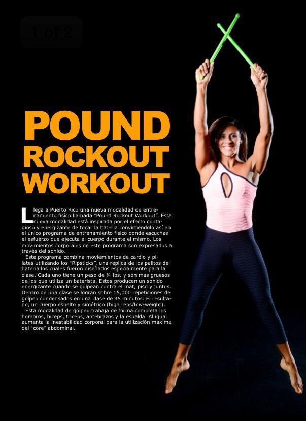 Pound Rockout Workout. Descripcion en español sobre modalidad. Like ...