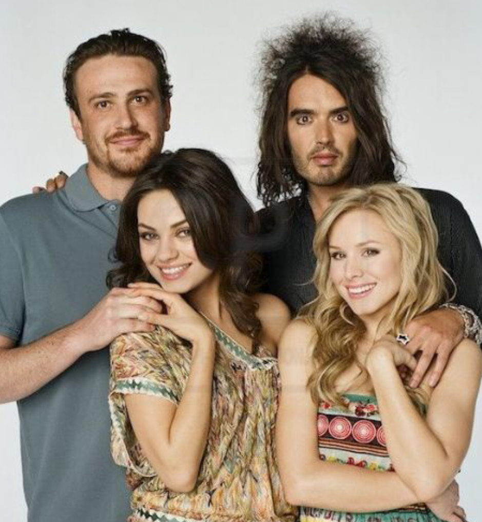 Mila Kunis With Cast Of Forgetting Sarah Marshall 2008 Mila