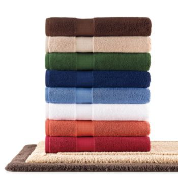 Chaps Home Turkish Premium Cotton Solid Bath Towels With Images