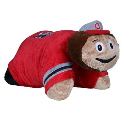 Buckeye Pillow Pet Ohio State Football Ohio State