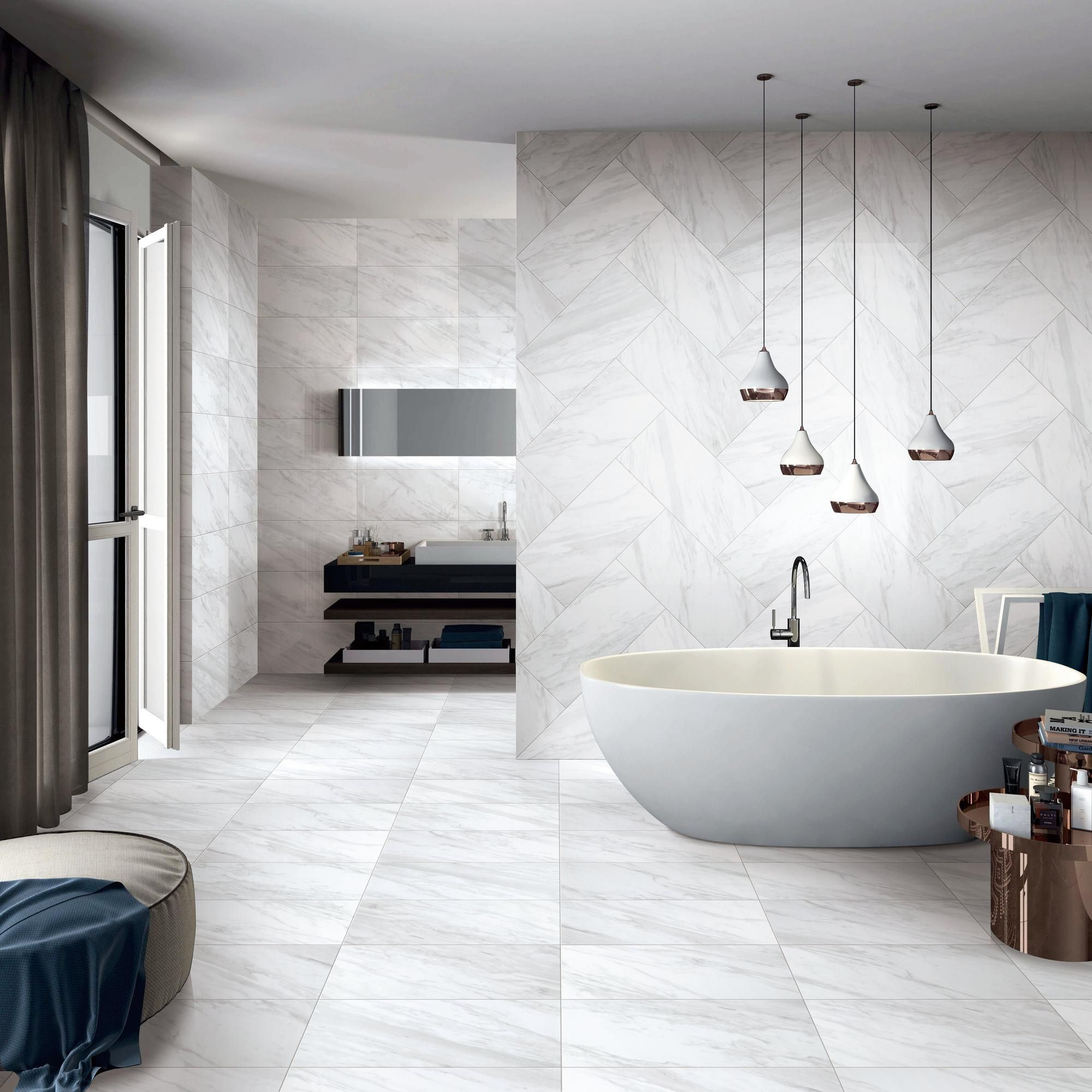 Volakas Plus Matte Porcelain Tile With Images