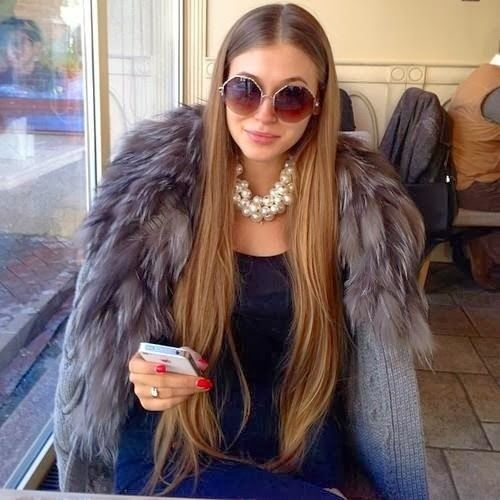 #fur coat fur fun ;) www.foxandklaff.com