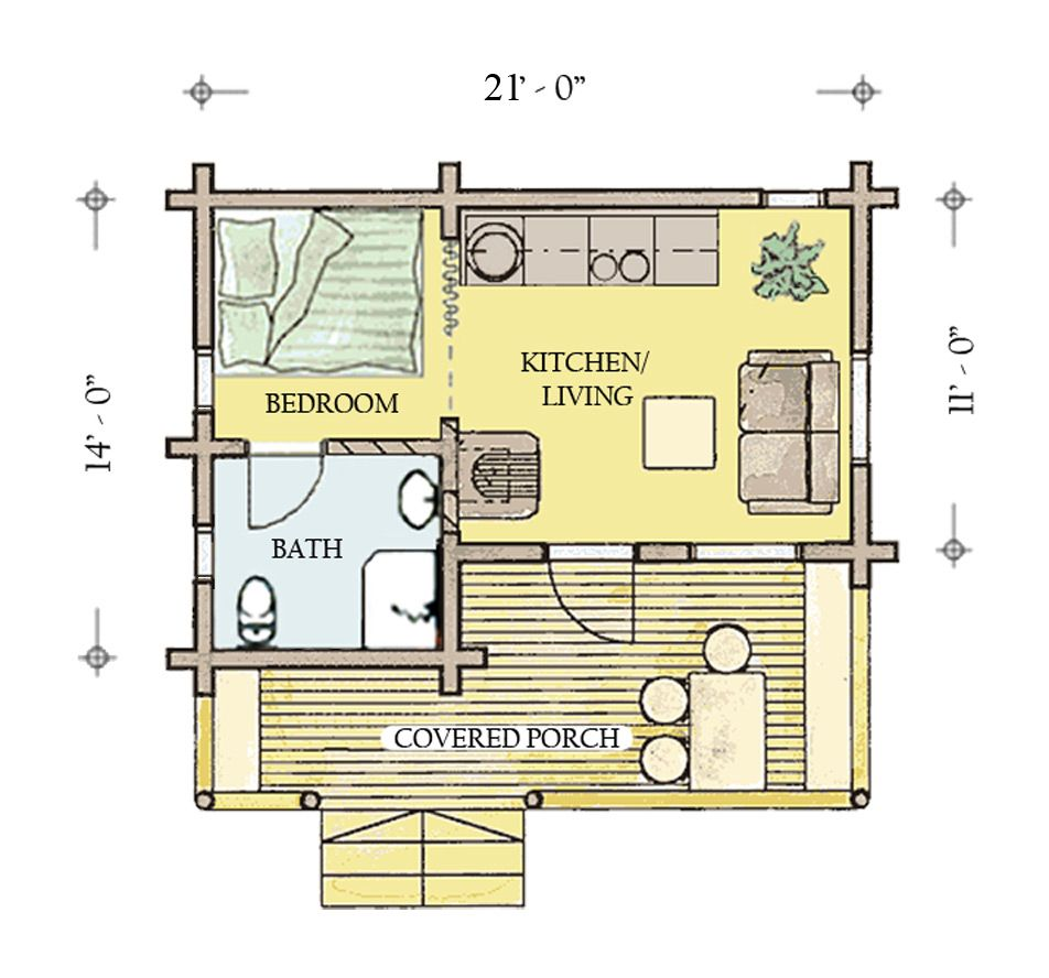 Hunting Cabin Floor Plans Hunting Cabin Plans With Loft Hunting