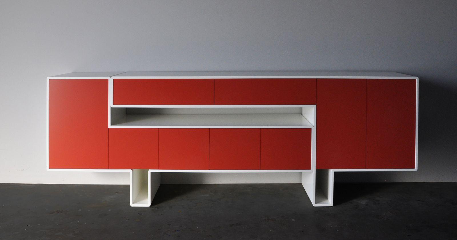 Sideboard Dressoir Design Lak Lakken Origineel