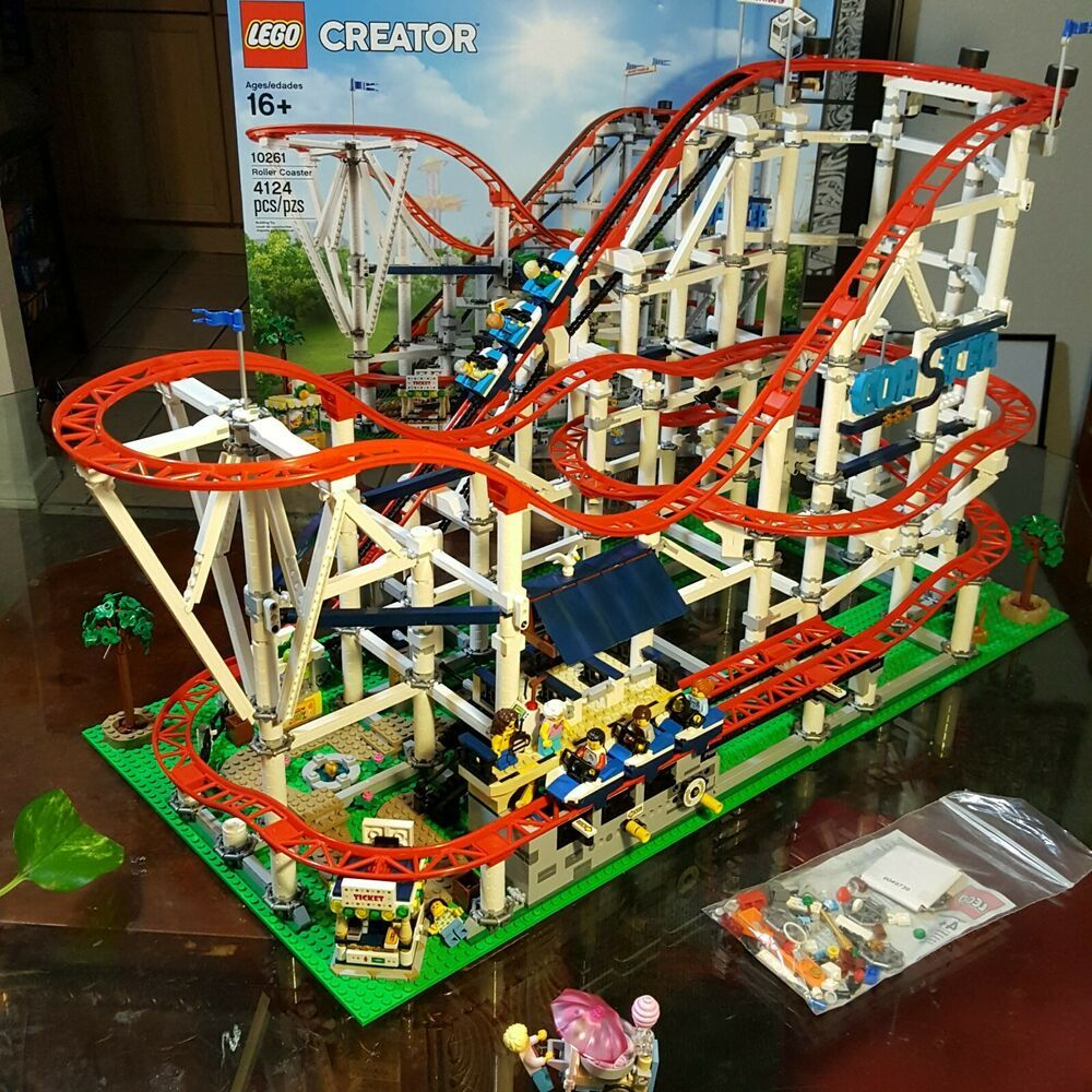 Lego Creator Roller Coaster 10261 With Power Functions Lego Creator Roller Coaster Lego
