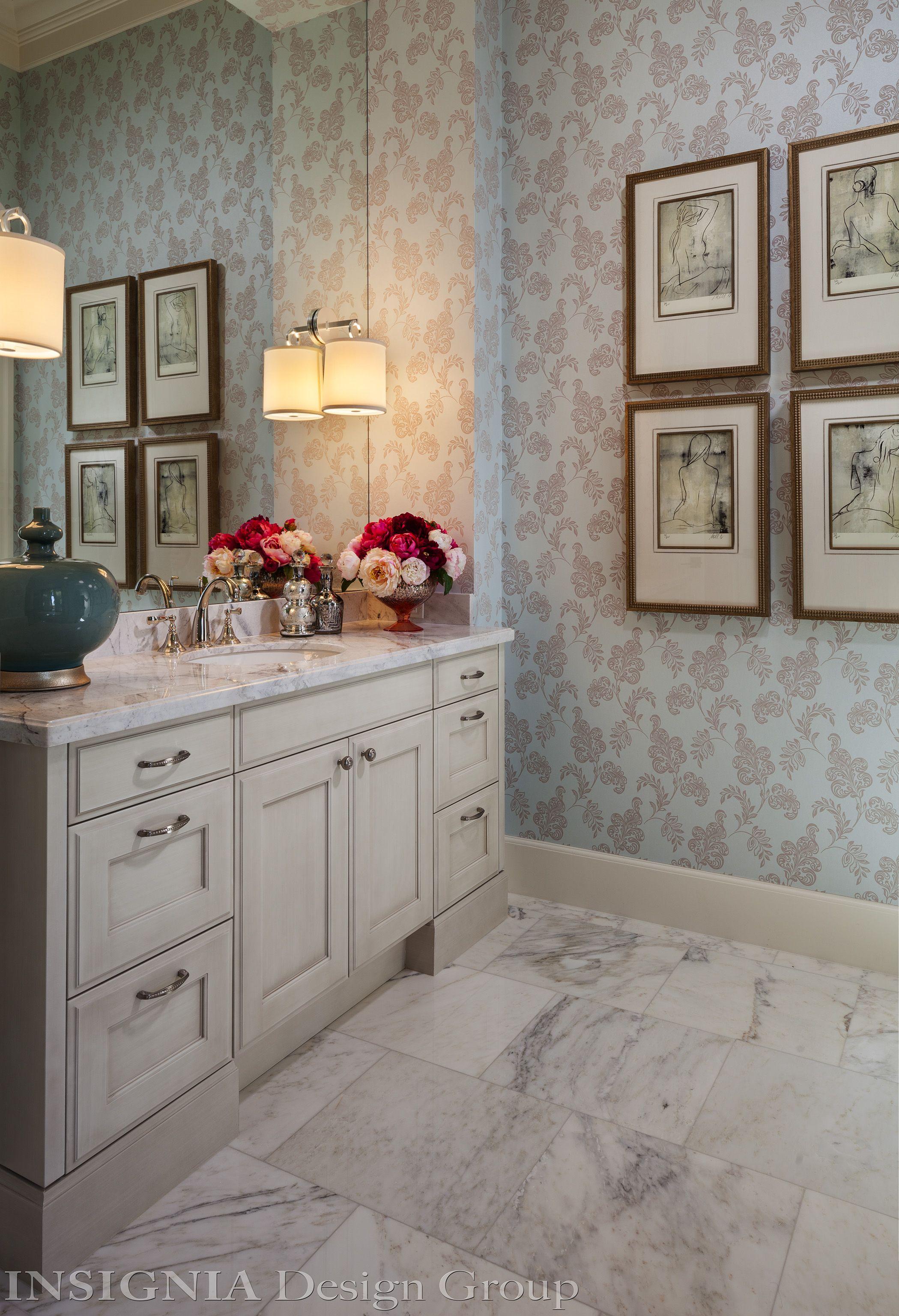 Her master bath vanity area | Master bath vanity, Interior ...
