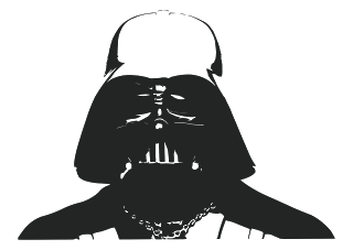 Vector logo download free: Darth vader Logo Vector