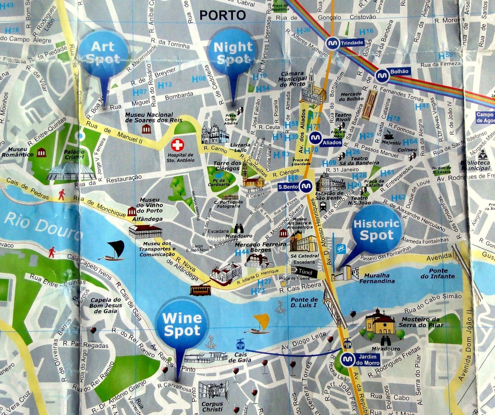 1DSC02543JPG 1600 1342 Places I wish I could see – Porto Tourist Map