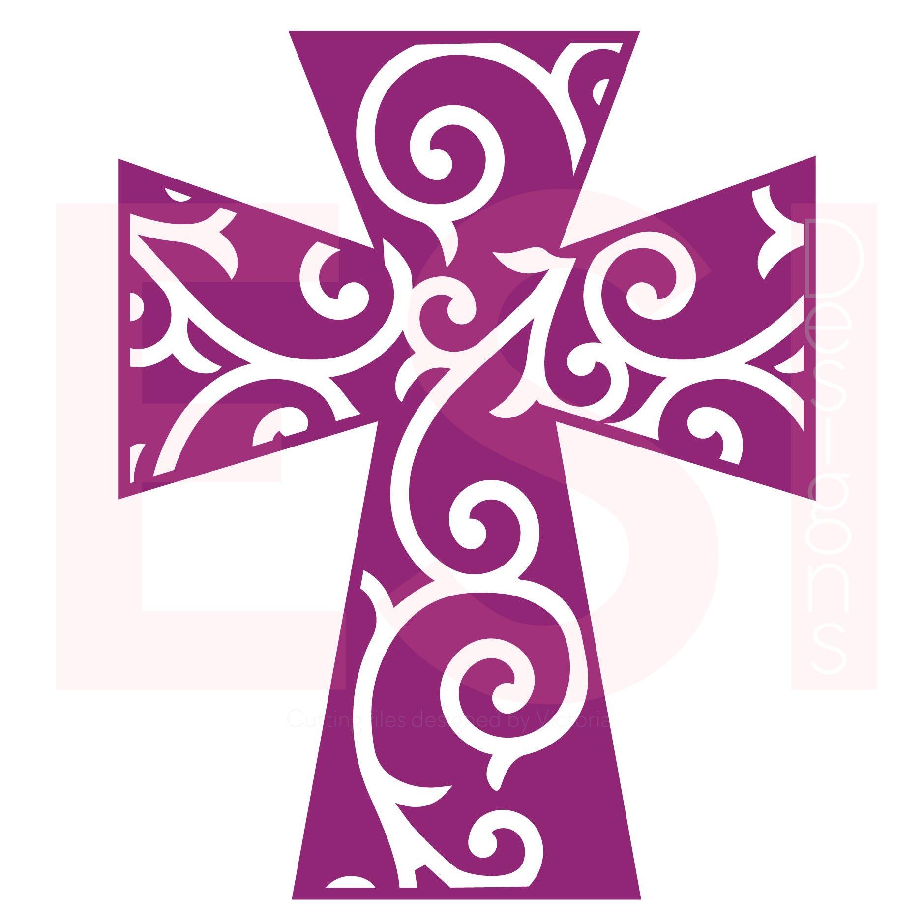 Blessed Cross SVG Blessed cross design Cross designs