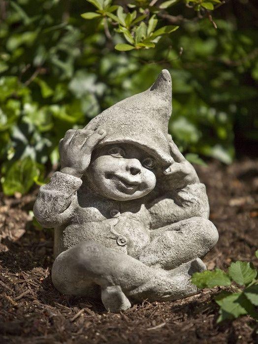 Garden Statue Fairy: George, Pixie Garden Statue