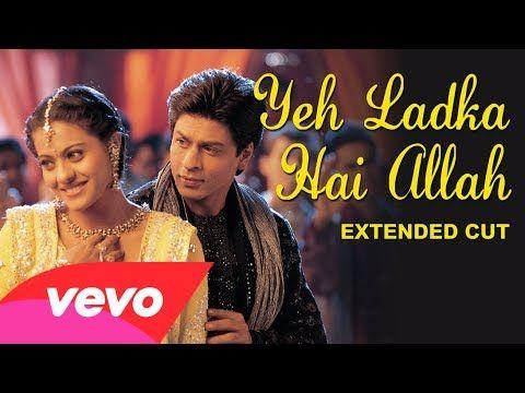 K3g Yeh Ladka Hai Allah Video Shah Rukh Khan Kajol Bollywood Music Videos Bollywood Movie Songs Shahrukh Khan And Kajol