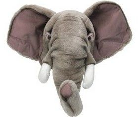 Trophee elephant, cheaper and better  than hunting one...