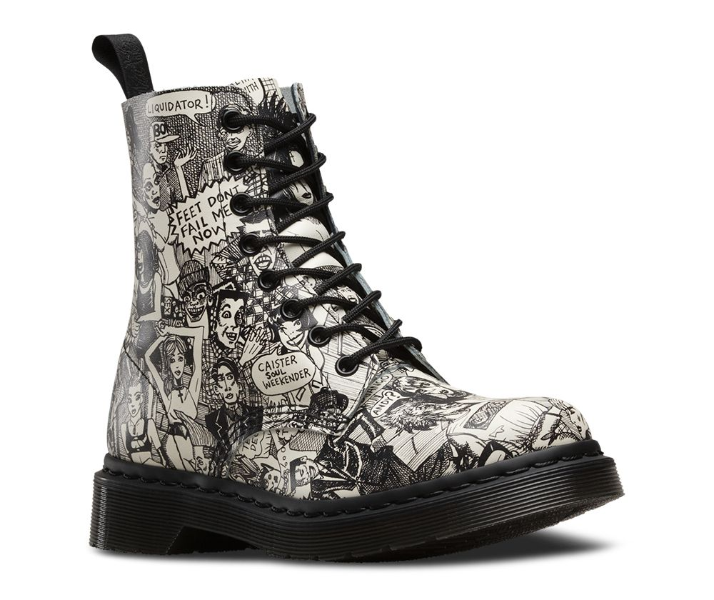 90fded2cf5bc PASCAL - Artwork by Mark Wigan. Head to the Dr Marten s website to check  out the collaboration.
