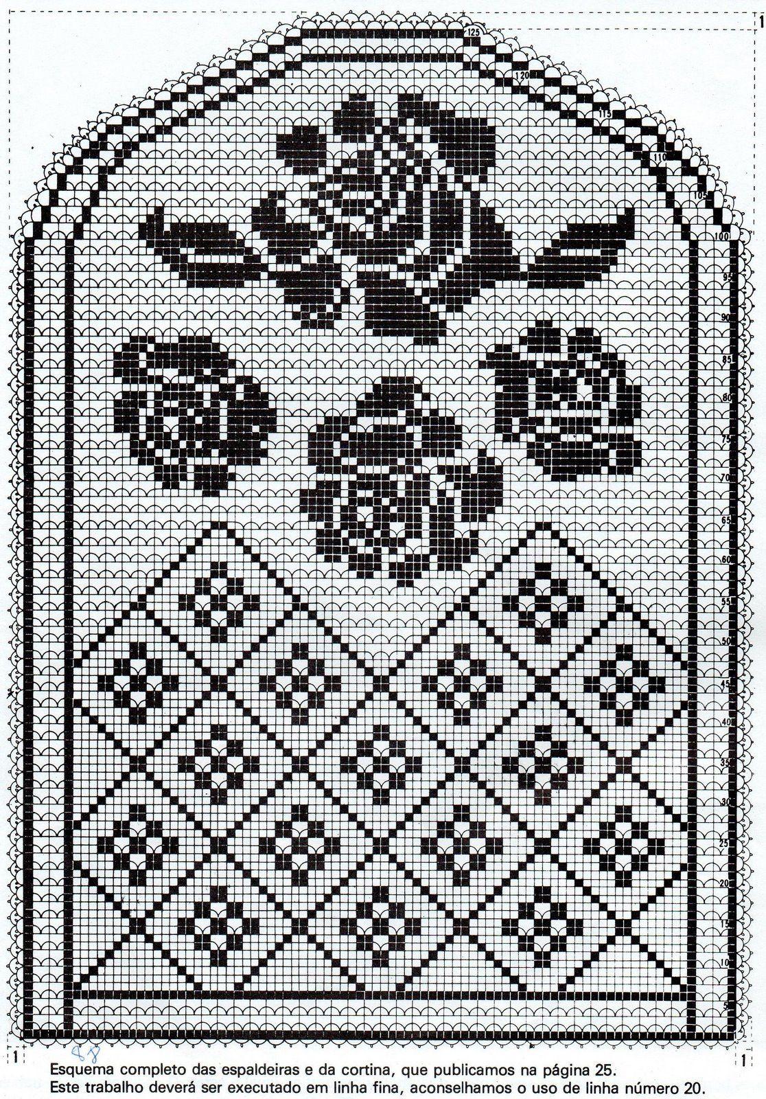img788.jpg (1116×1600) | pembe | Pinterest | Deckchen, Vorlagen und ...