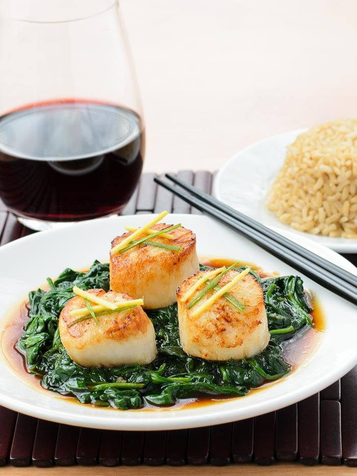 ALTHEA: Scallop recipes asian style
