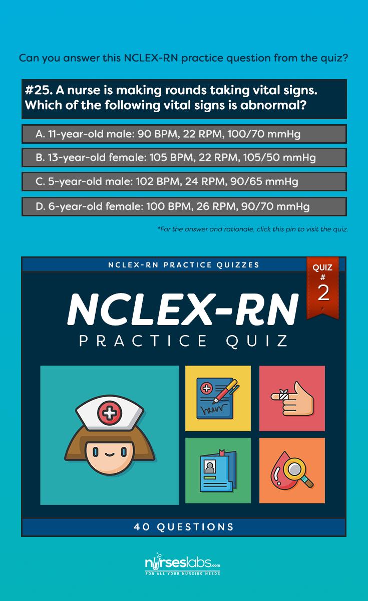 NCLEX-RN Practice Exam #2 (40 Questions) | nursing 101 | Nclex