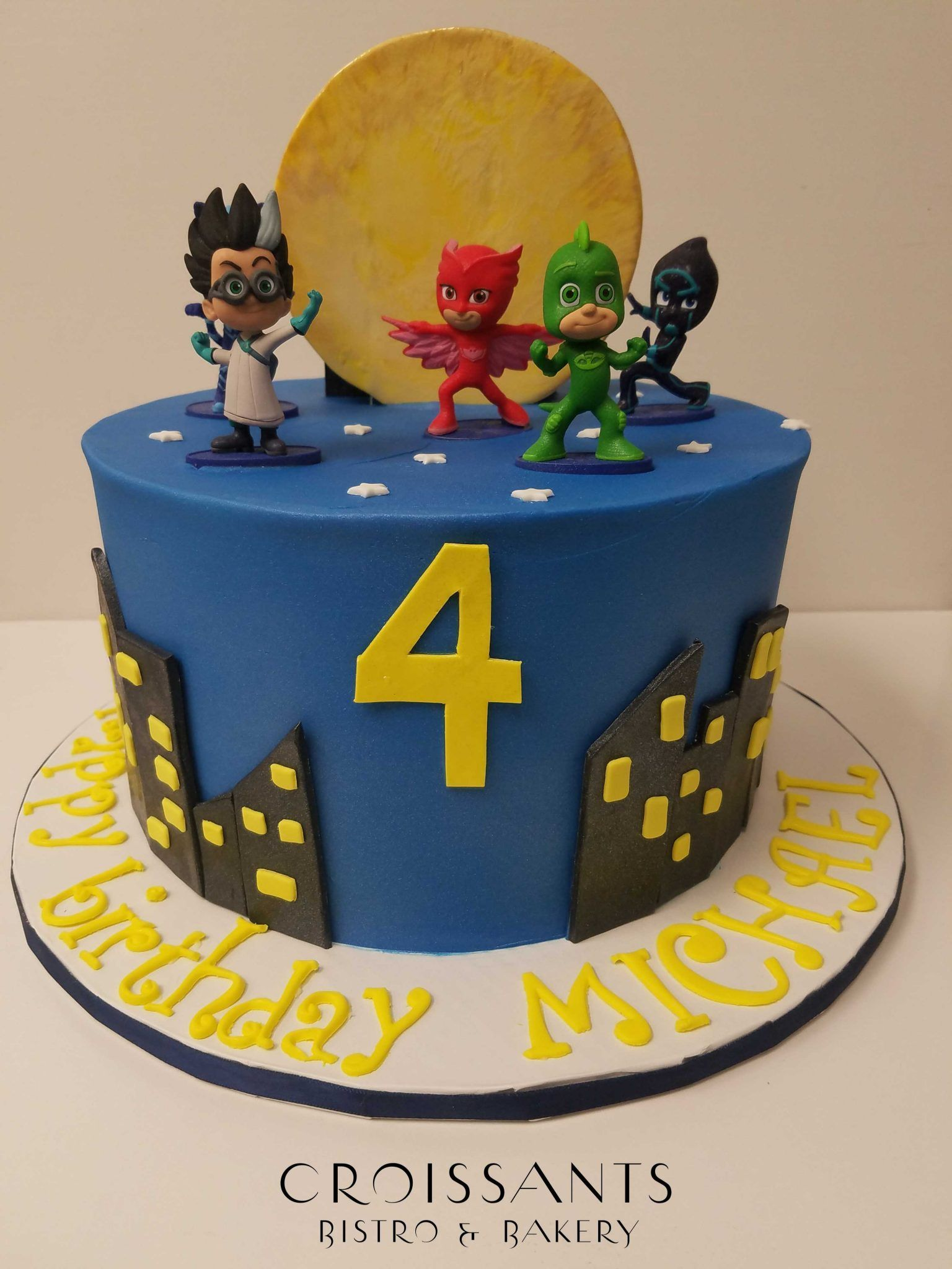 Image Result For Pj Masks Cakes Boy Birthday Cake Pj Masks Cake