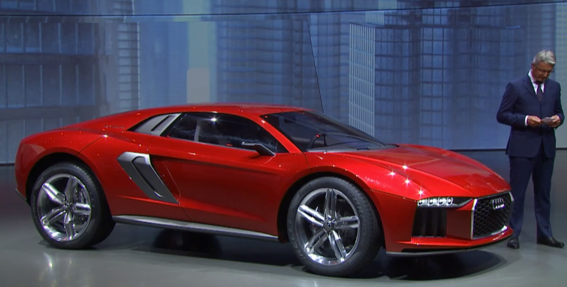 Audi nanuk quattro concept. #iaa #iaalive
